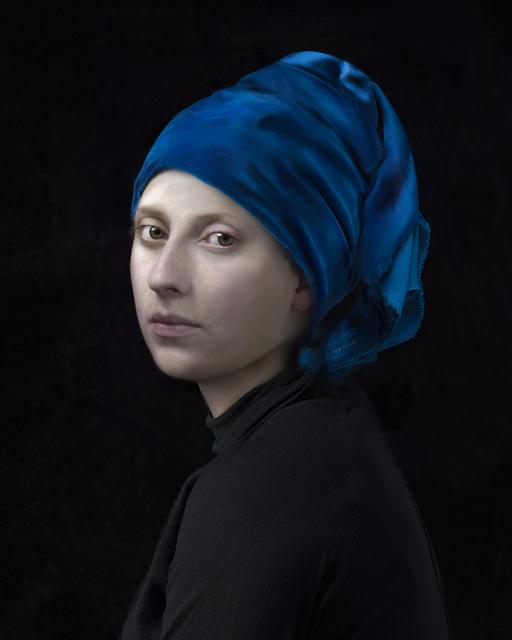 , 'Blue Turban,' 2017, Jenkins Johnson Gallery