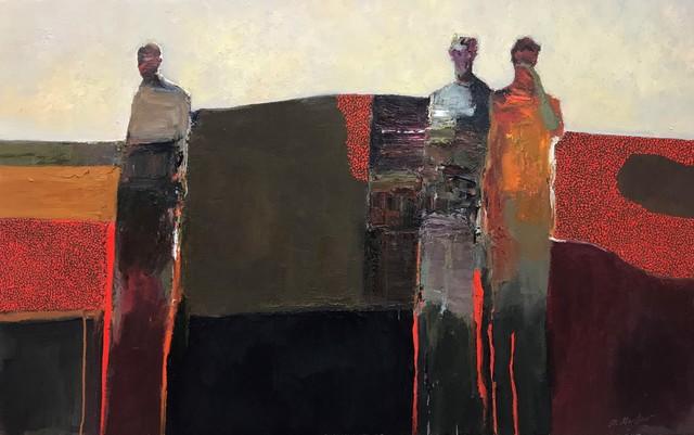 , 'Figures in Landscape,' 2018, Gallery 1261