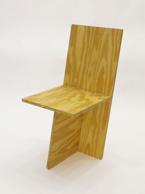 , '+ Chair Ply,' 2010, Patrick Parrish Gallery