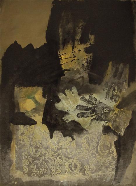Antoni Clavé, 'Gants et nappe imprimée', 1972, Galeria Jordi Pascual