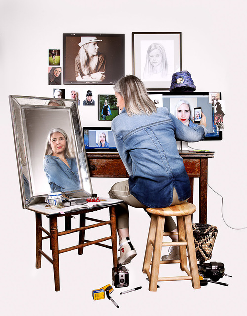 Maggie Meiners, 'Selfies', 2012-2017, Fabrik Projects Gallery