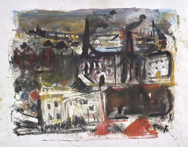 , 'The Place of Much Industry,' , The Scottish Gallery