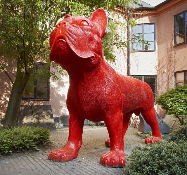 William Sweetlove, 'Big red cloned French Bulldog ', 2004, Galleri GKM