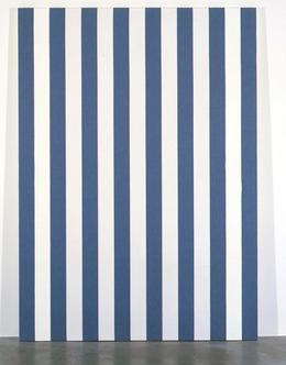 daniel buren peinture acrylique blanche sur tissu raye blanc et noir 1973 artsy. Black Bedroom Furniture Sets. Home Design Ideas