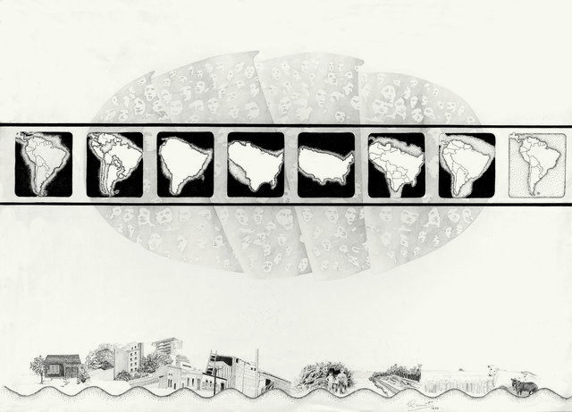 , 'De la Realidad: Relevamientos para el sueño de la casita propia. Documentación I,' 1975, Henrique Faria   Buenos Aires