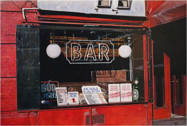 Rudolf Häsler, 'Bar in Haarlem. New York', 1987, bromer kunst