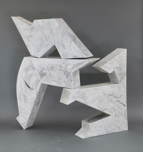 , 'Three Piece Puzzle Sculpture,' 2022, GVG Contemporary