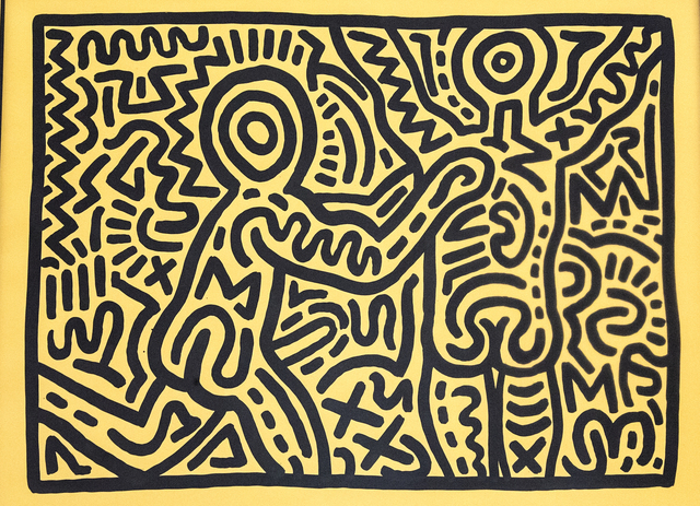Keith Haring, 'Untitled', 1982, Gerald Hartinger Fine Arts