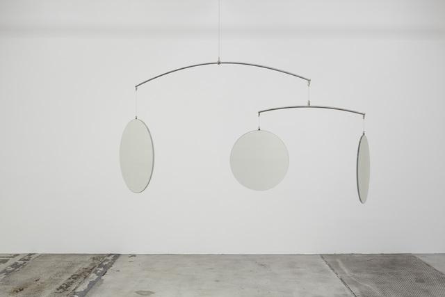 , '3-Dimensional Mirror Mobile,' 2009, Galleri Nicolai Wallner