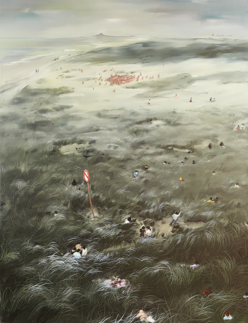 Zhou Jinhua 周金华, 'The Golden Age ', 2008, Painting, Oil on canvas, Ho Gallery