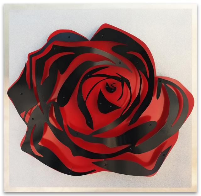 , 'Rose - Black on Diamond Dust,' , FP Contemporary