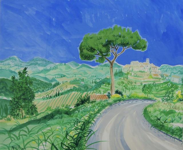 , 'En route in Provenace,' 1987, Robert Eagle Fine Art