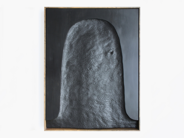 , 'Black Painting (Shroud),' 2017, Patrick Parrish Gallery