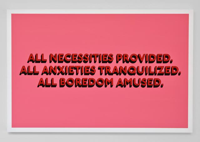, 'ALL NECESSITIES (Original),' 2018, Hang-Up Gallery
