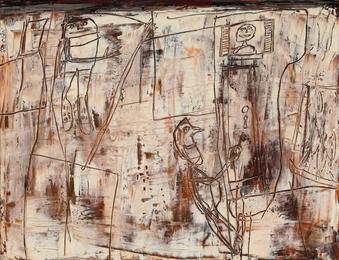 Jean Dubuffet, 'Enfin chez soi,' 1957, Sotheby's: Contemporary Art Day Auction