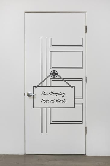 , 'Sleeping Poet,' 2015, Barbara Seiler