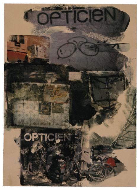 Robert Rauschenberg, 'Site', 2000, Print, 11 color screenprint, Gemini G.E.L.