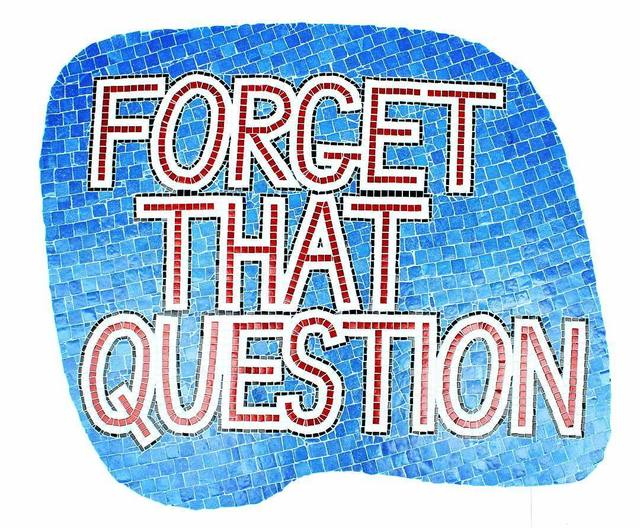 , 'Forget That Question,' 2018, Mobius Gallery