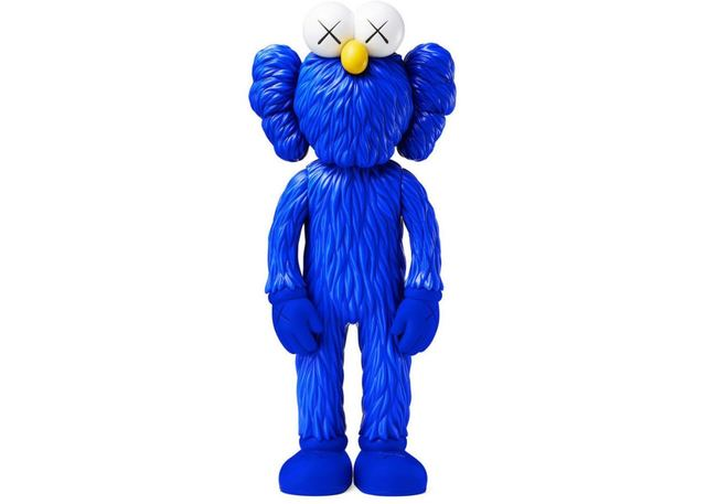 """KAWS, 'BBF Blue 13"""" MoMA Exclusive', 2017, Stowe Gallery"""