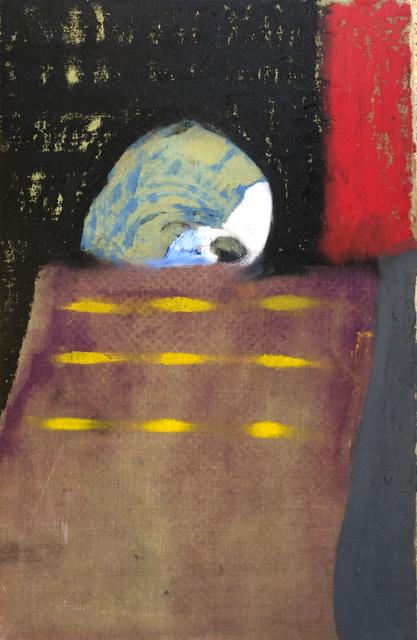 , 'Head of Man on the Train - (Nightshift),' 2018, Tatha Gallery