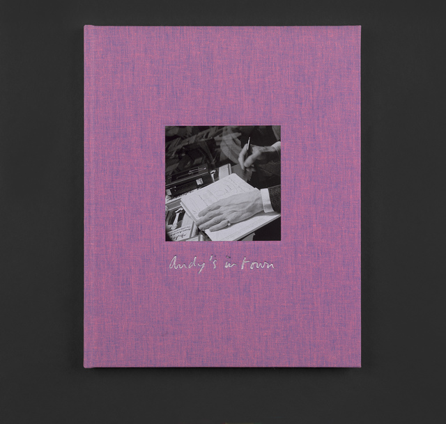 Marc Camille Chaimowicz, 'Andy's in Twon Limited Edition Publication', 2019, ICA London