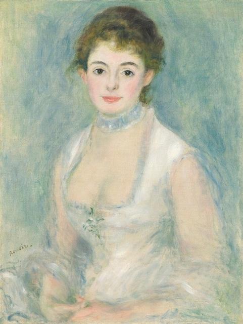 , 'Madame Henriot ,' ca. 1876, Seattle Art Museum