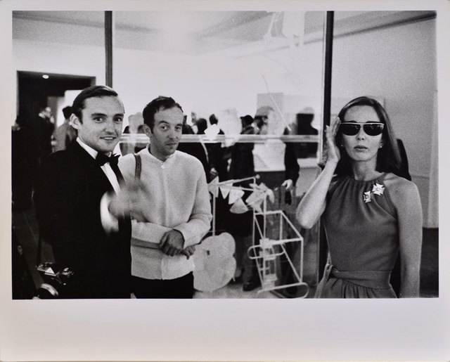 , 'Dennis Hopper, Taylor Mead and Brooke Hayward (Hopper), Duchamp Retrospective, Pasadena Art Museum,' 1963, Robert Berman Gallery