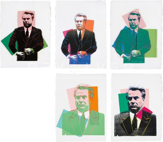 , 'John Gotti Complete Portfolio by Andy Warhol ,' 1986, Revolver Gallery