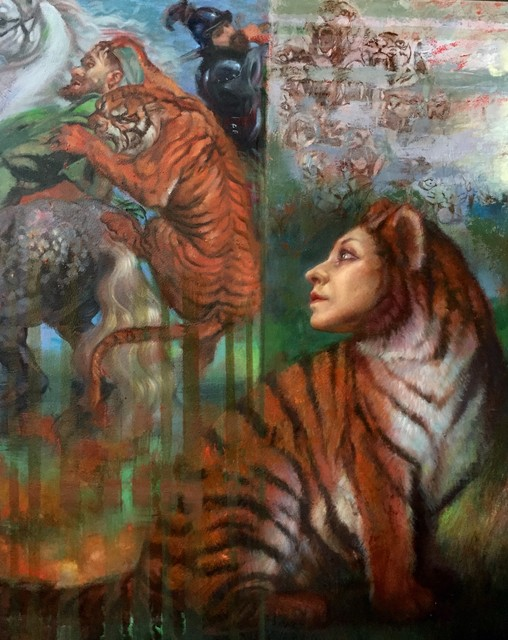 , 'Tiger Hunt,' 2017, The Galleries at Salmagundi