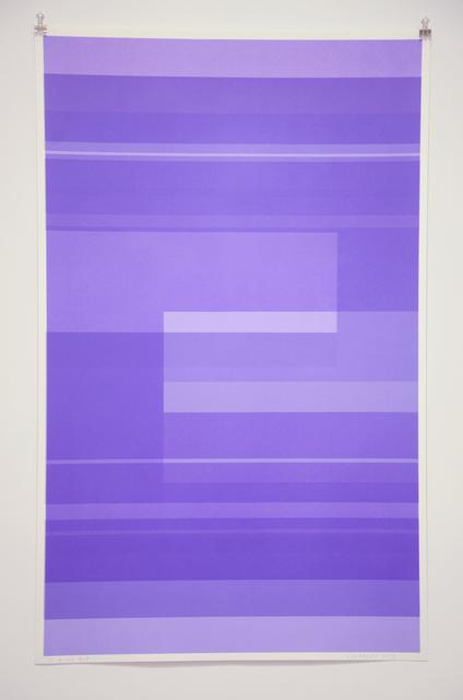 Kate Shepherd, 'Protest Violet', 2016, Minus Space