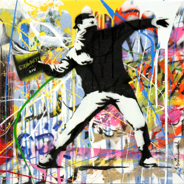 Mr. Brainwash, 'Banksy Thrower (18)', 2015, Contessa Gallery