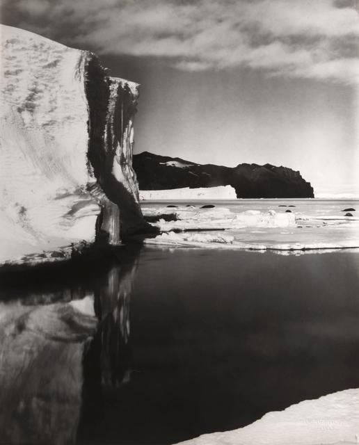 , 'GLACIER, ANTARCTICA, 1911-1912,' 1911-1912, Beetles + Huxley