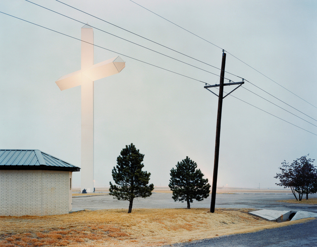 , 'Biggest Cross in Texas,' 2005, Sies + Höke