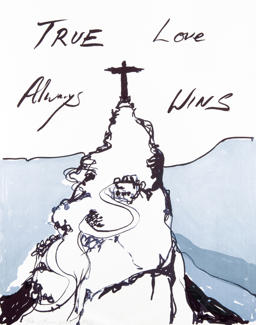 Tracey Emin, 'True Love Always Wins', 2016, Tate Ward Auctions