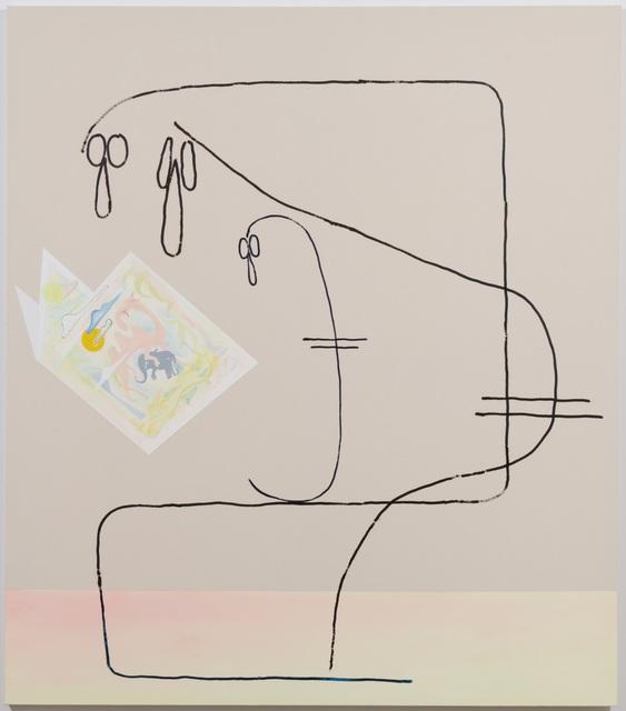 """, 'From the series: """"San Pellegrino (The taste of metal in water)"""",' 2018, Ghebaly Gallery"""