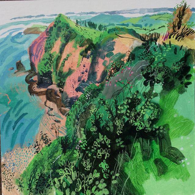, 'High Peak From Peak Hill,' 2018, Hybrid Gallery