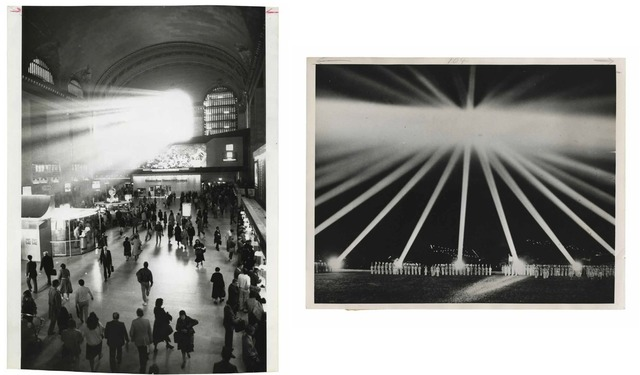 , 'TQ 17/18: Grand Central Station/WWII Night Lights,' 1985/1940, Moss Bureau