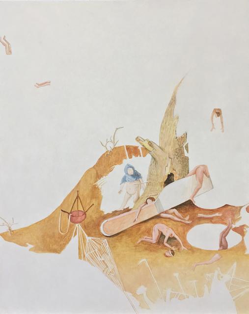 , 'Fragmento XXIII a partir del trabajo de El Bosco,' 2017, Proyecto Paralelo