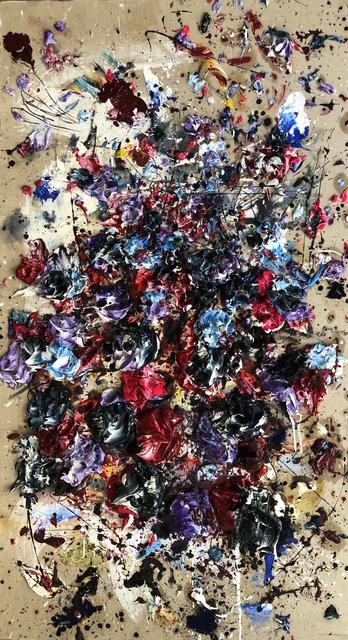 Ismael Lagares, 'Purple XI', 2018, Belvedere Art Space