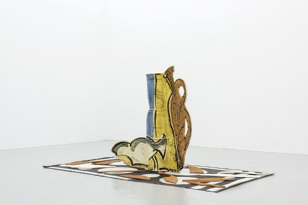 Betty Woodman - Florentine Interiors, Galerie Hubert Winter (Installation view)