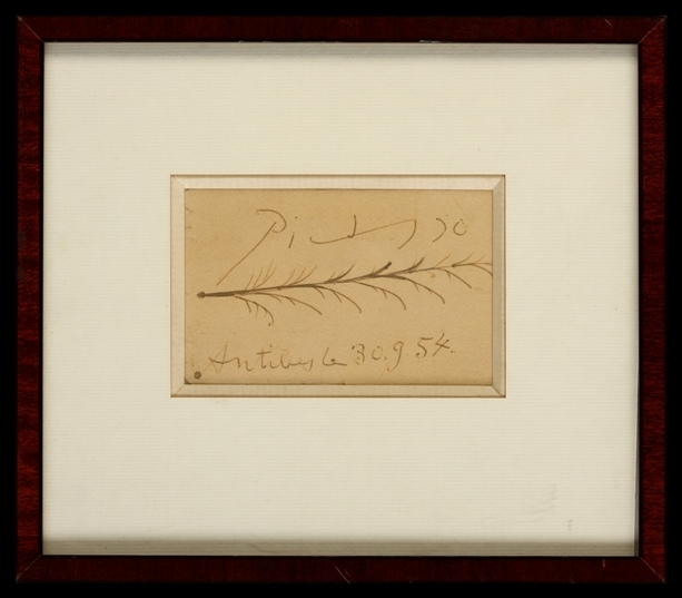 Pablo Picasso, 'Antibes, Le 30.9.54', 1954, Belgravia Gallery
