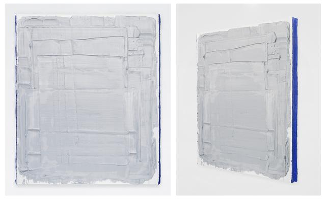 , 'Light Mars Gray with Cobalt Blue sides,' 2014, Jeff Lincoln Art+Design