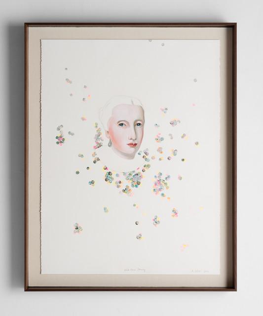 , 'White Hair Drawing,' 2016, Slete Gallery