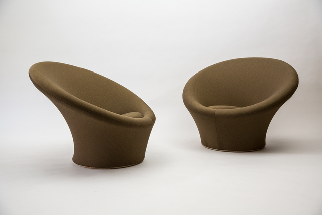 , 'Pair of Large Mushroom Chairs, Model F562,' , Demisch Danant