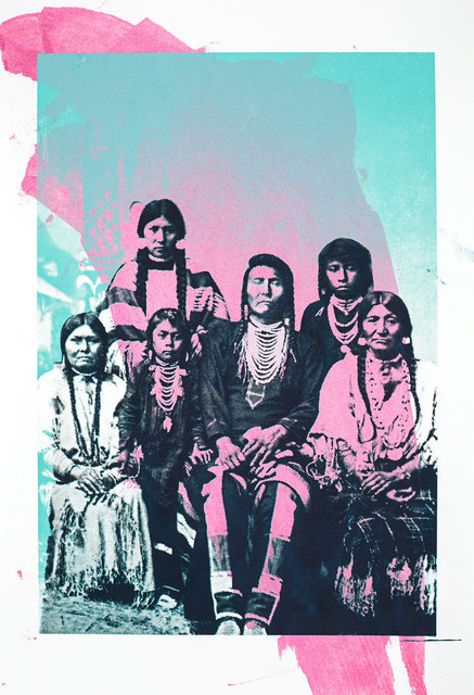 , 'Chief Joseph and Family,' 2015, Garis & Hahn