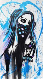 Skott Marsi, 'Uniquebeauty,' 2014, Fine Art Auctions Miami: Major Street Art