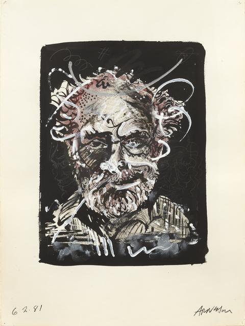 Robert Arneson, 'Untitled Drawing #4', 1981, Brian Gross Fine Art