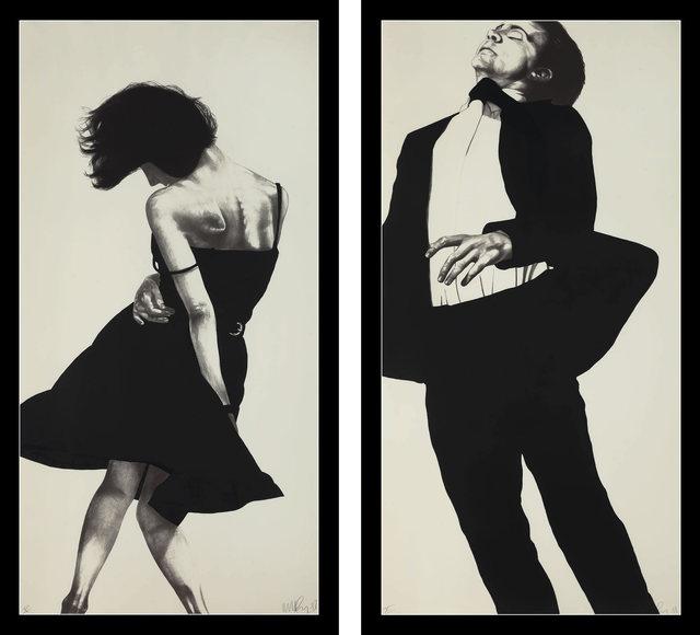 Robert Longo, 'Meryl and Jonathan from Men in the Cities  ', 1988, Fine Art Mia
