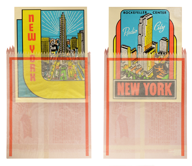 , 'Joe Tilson, New York Decals 3 and 4, two screenprints in colours, 1967,' 1967, Shapero Modern
