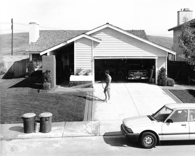 Joe Deal, 'Watering Phillips Ranch, California', 1983, Robert Mann Gallery
